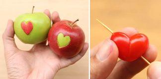 Valentínske nápady z potravín | Tipy a triky pri aranžovaní jedla