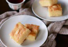 Recept na Namoura - krupicový koláč s cukrovým sirupom