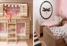 Detské postele v tvare domčeka ponúkajú pohodlný spánok aj miesto na hranie