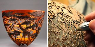 Vyrezávané drevené misy inšpirované divokou prírodou | Gordon Pembridge