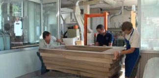 Výroba vane z orechového dreva | Ukážka procesu z výroby