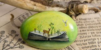 Maľby na kameňoch spod rúk umelkyne Yana Khachikyan