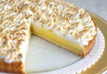 Recept na svieži citrónový tart so snehom | Tarte au citron meringuée