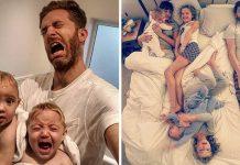 Život otca, ktorý býva s piatimi ženami | Fotografie, ktoré pobavia!