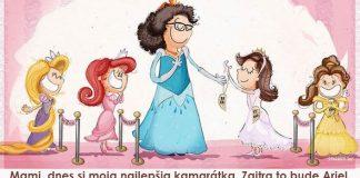 Otecko premieňa vtipné hlášky dcérky na milé ilustrácie | Spaghetti Toes