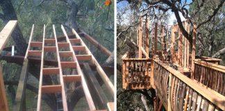 Ako im šikovný kutil postavil vysnívaný domček na strome | DIY nápad