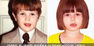 25 rodičov a ich deti v rovnakom veku, ktorých podoba je na neuverenie #2