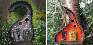 Rozprávkové vtáčie búdky | Čarovný doplnok každej záhrady