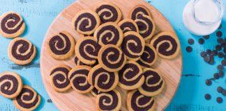 Vanilkovo-čokoládové koláčiky | Recept na chrumkavé dvojfarebné cookies
