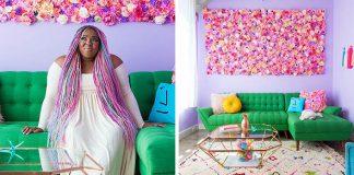 Amina Mucciolo má najfarebnejší byt, aký ste kedy videli