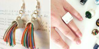 Šperky z elektroniky | Cat & Craft tvorí bižutériu z elektroodpadu