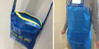 IKEA taška a jej módne premeny | 10 nápadov ako premeniť IKEA tašku