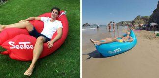 Ako si spríjemniť horúce letné dni? O pohodlie a relax sa postará úžasný nafukovací vak - Lazy bag