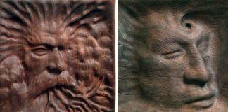 Drevené sochy vyrábané starobylou technikou | Chris Isner