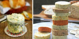 Domáce ochutené maslá | 10 receptov na maslo s bylinkami, korením a ...