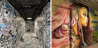 Škola požiadala 100 graffiti umelcov, aby pomaľovali steny internátu