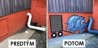 Tom Bob pretvára ulice na umenie | Jeho street art diela nemajú hranice