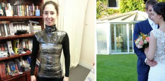 Jej svadobné šaty mali stáť 3,000 dolárov. Tak si vyrobila svoje vlastné!