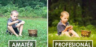 Ako sa na tú istú scénu pozerá amatérsky a profesionálny fotograf?