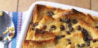 Pudingový chlebík | Recept na žemľovku z toustového chleba s pudingom
