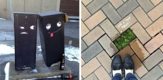 Kreatívny street art, ktorý je zároveň pozitívnym pouličným vandalizmom