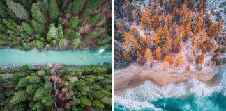 Niaz Uddin a jeho pestrofarebné fotografie krajín z vtáčej perspektívy