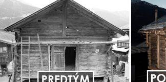 Premena starej drevenej stodoly z roku 1792 na útulnú drevenú chatu
