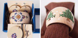 Do dreva vyšívané vecičky s pečaťou slovenských tradícií | Hoblinka
