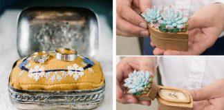 Krabičky na prstene | 23 najkreatívnejších krabičiek na prsteň