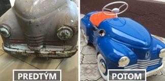 Ruslan Kuchmenov renovuje staré šliapacie autíčka. Výsledok je očarujúci!