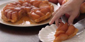 Tarte Tatin: Francúzsky obrátený jablkový koláč s maslovým cestom
