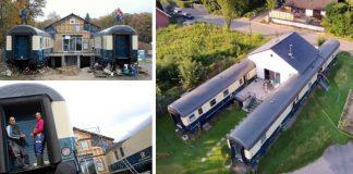 Bývanie vo vagónoch | Mladý pár si postavil dom zo starých vagónov