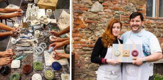 Porcelánové zásuvky a vypínače mnohých tvarov a farieb | Mulier