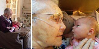 Prvé stretnutie starých rodičov s vnúčatami a pravnúčatami