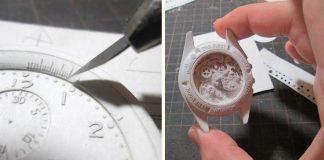Manabu Kosaka vyrába dokonalé realisticky pôsobiace hodinky z papiera