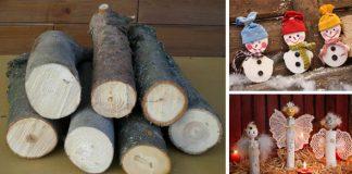 Konáre, prútie a polená vo vianočných dekoráciách | DIY nápady