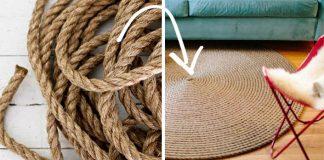 Koberce z lana | Kreatívne nápady a návody urob si sám na koberec z lana