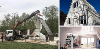 Dom M.A.Di. trvá postaviť, teda rozložiť len 6 hodín a stojí 28-tisíc eur