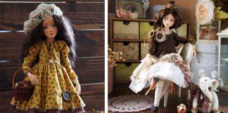 Natalia ručne vyrába originálne vintage bábiky, ktoré zaujmú svojim spracovaním so zmyslom pre detail