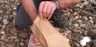 Vajíčka na slaninke pripravené v papierovom vrecku | Tipy a triky