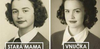 Vnúčatá napodobnili starých rodičov z mladosti a výsledok je očarujúci!