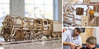 Ugears mechanická stavebnica | Drevené modely hračiek nielen pre deti