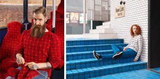 Ručne pletené svetre ako dokonalá kamufláž | Joseph Ford & Nina Dodd