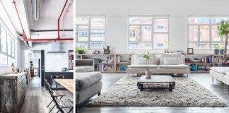 Starý sklad premenený na vysnívané bývanie v industriálnom štýle