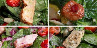 Štyri recepty na chutné a zdravé šaláty s kuracím mäsom