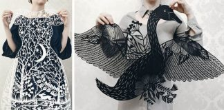 Vyrezávanie papiera inšpirované prírodnými motívmi | Eugenia Zoloto