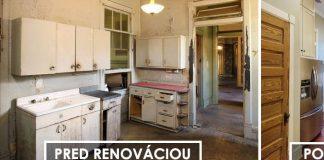 Renovácia starého domu na luxusné a útulne bývanie zároveň!