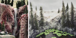 Miniatúry divokého západu na umelých kožušinách | Areca Roe