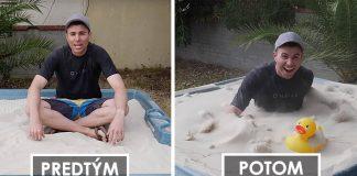 Tekutý piesok | Ako pomocou vírivky donútiť piesok, aby sa správal ako tekutina