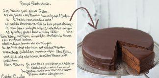 Sacherova torta podľa originálneho tradičného receptu   Recept